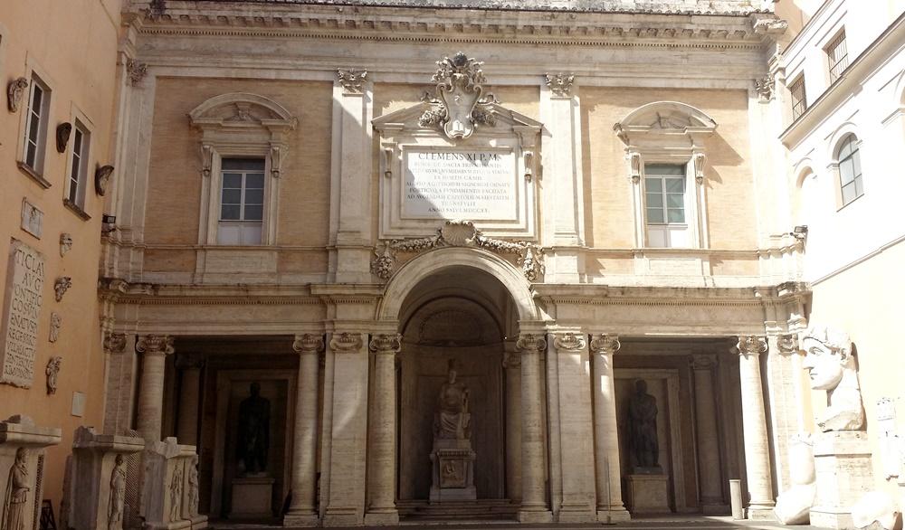 カピトリーニ美術館中庭