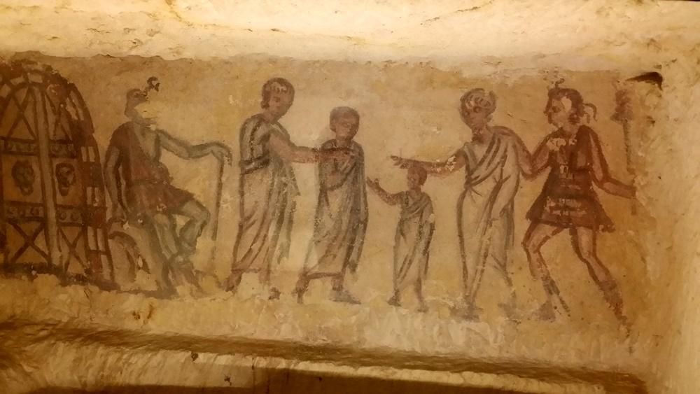 ネクロポリの壁画