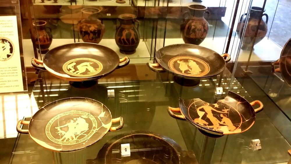 タルクィニア考古学博物館のエロス