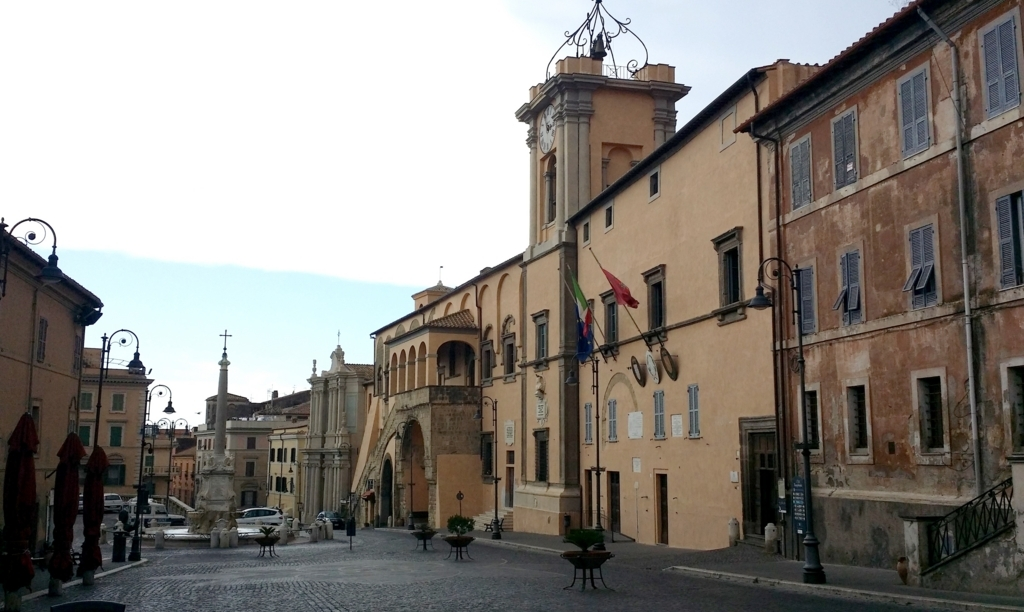 タルクィニアの市庁舎