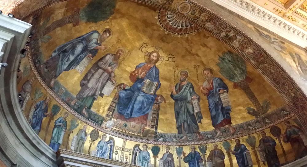 サン・パオロ・フォーリ・レ・ムーラ大聖堂のモザイク