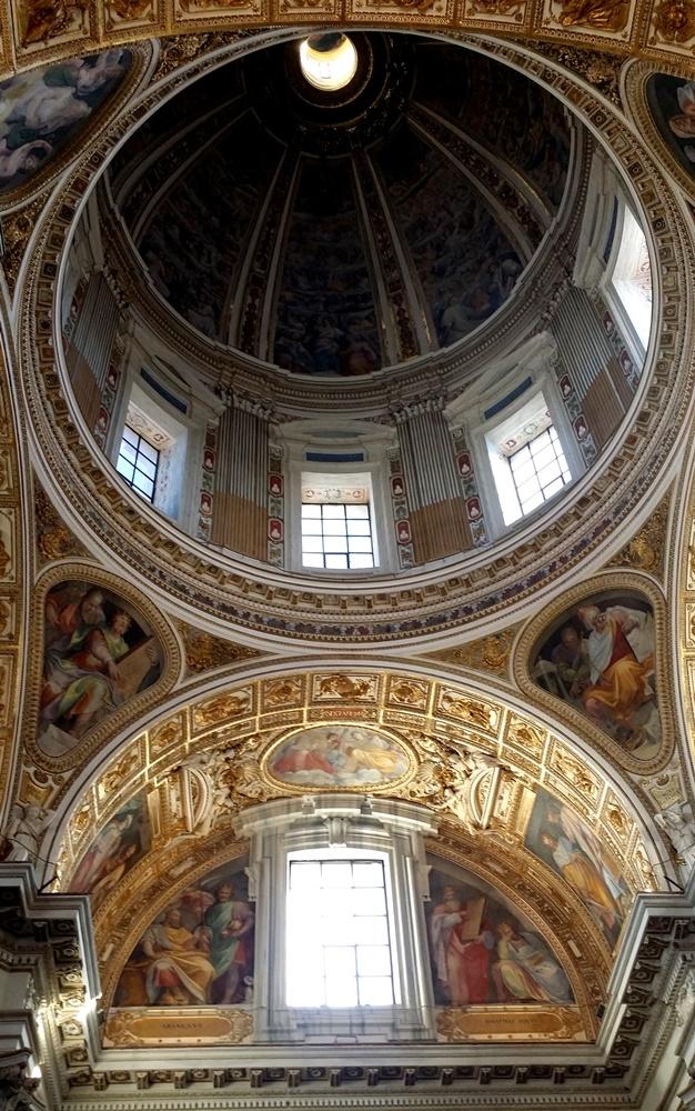 サンタ・マリア・マッジョーレ大聖堂のクーポラ