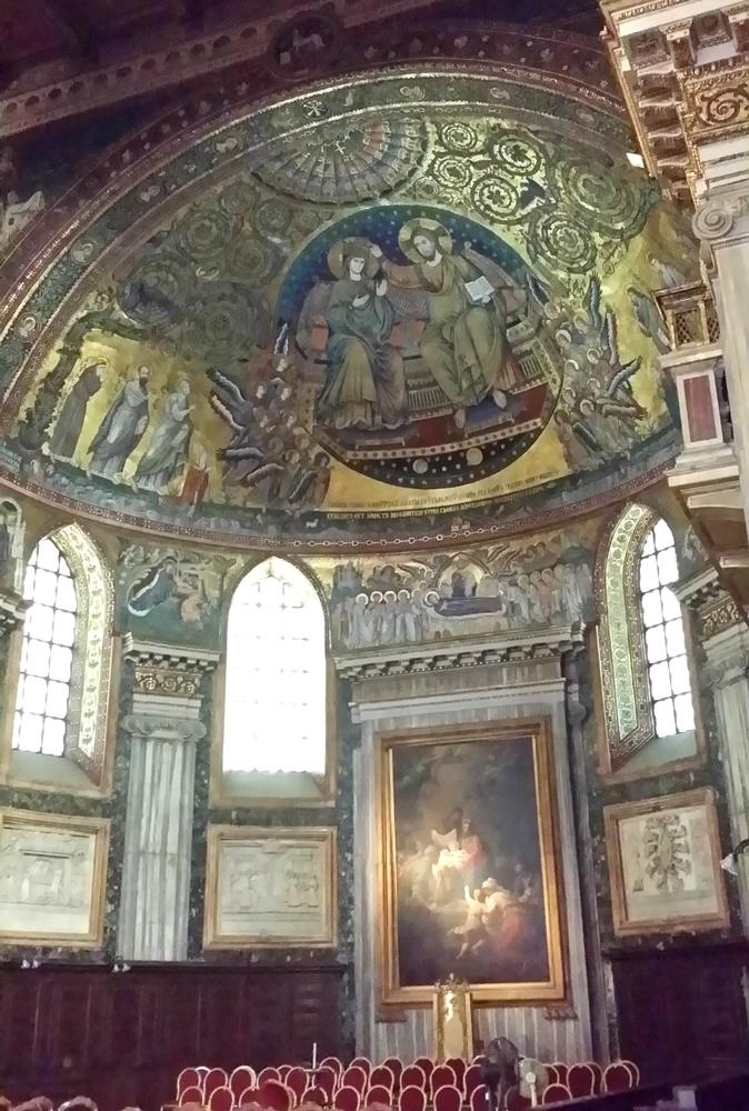 サンタ・マリア・マッジョーレ大聖堂のモザイク