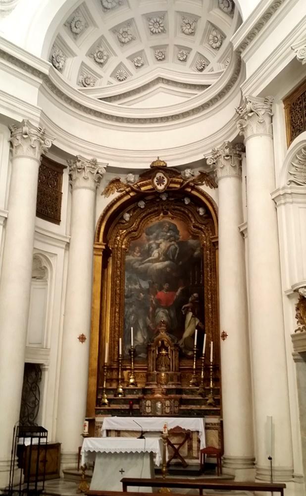 サン・カルロ・アッレ・クアットロ・フォンターネ教会