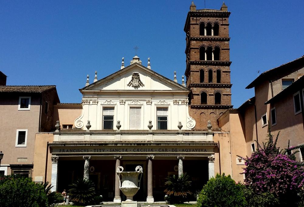 サンタ・チェチーリア・イン・トラステヴェレ教会