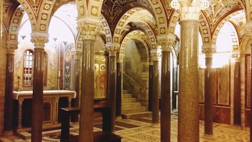 サンタ・チェチーリア・イン・トラステヴェレ教会地下礼拝堂