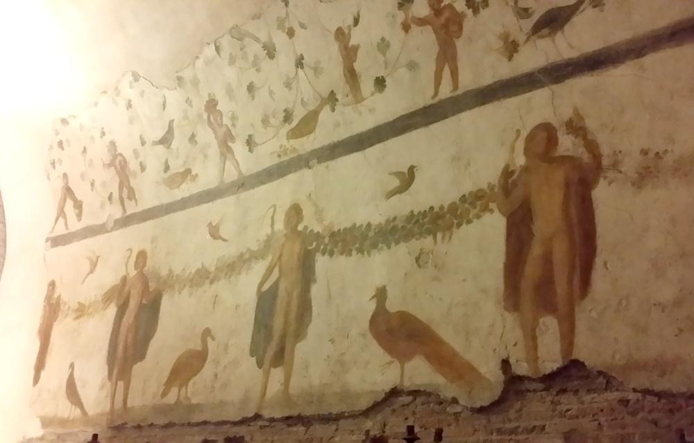 サンティ・ジョヴァンニ・エ・パオロ教会のフレスコ画