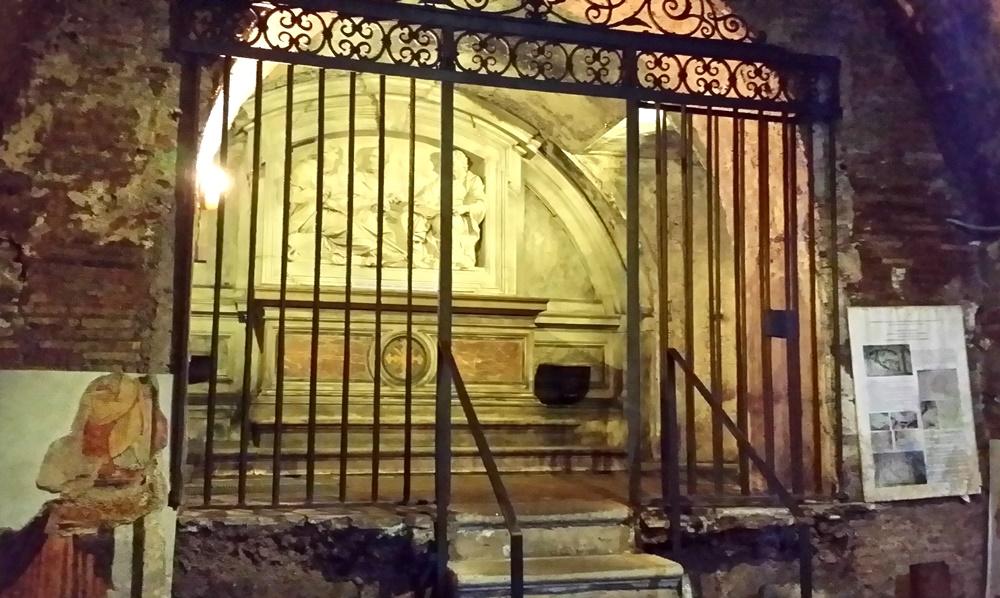 サンタ・マリア・イン・ヴィア・ラータ教会地下