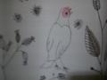 カーテンの小鳥 1