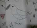 カーテンの小鳥 2