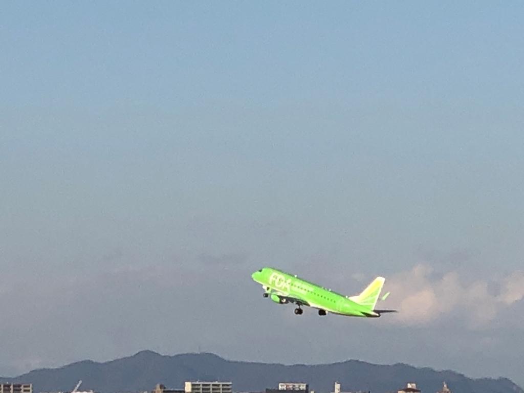 f飛行機の写真