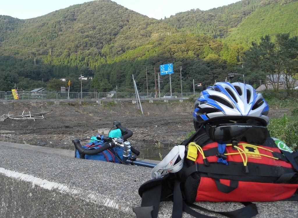 サイクリングの途中