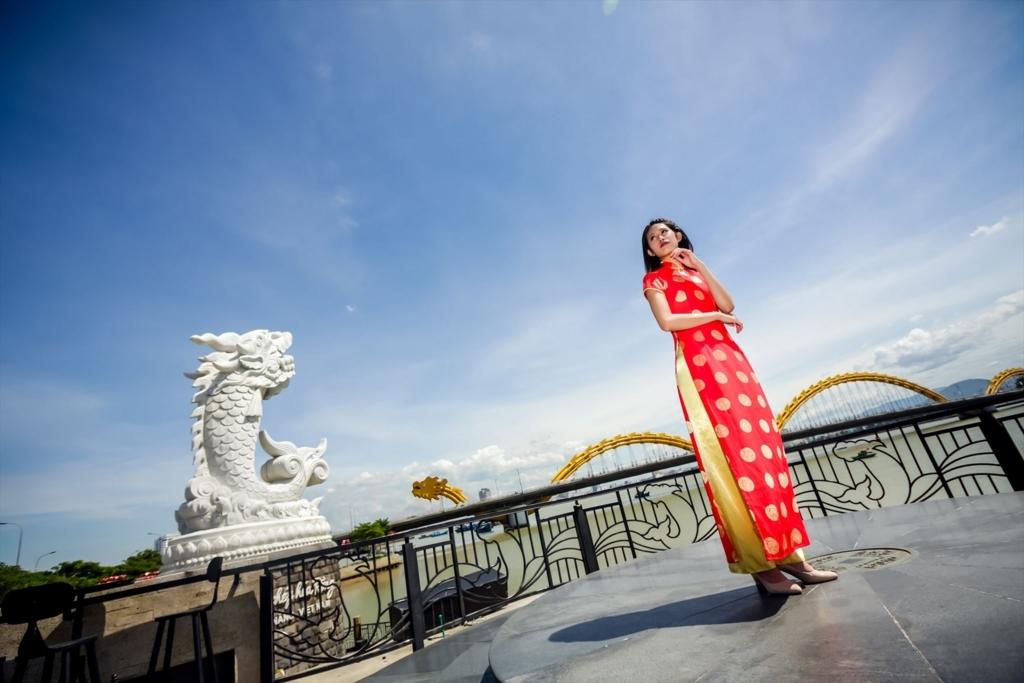 ダナンアオザイフォト写真撮影ベトナム