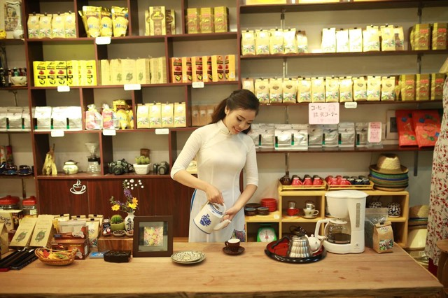 ダナンHantoushopハントウショップお土産屋チョコレートコーヒー情報日本語