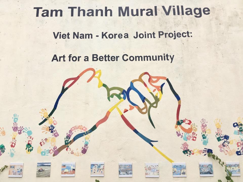 TamThanhMuralVillageダナンホイアン観光アート情報