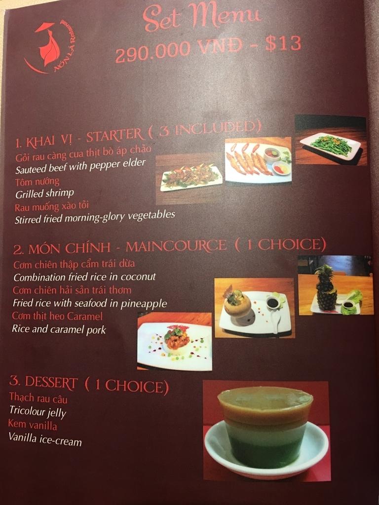 ベトナム食事ダナン観光