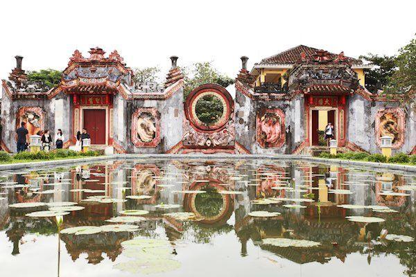 ホイアン日本橋ベトナム世界遺産