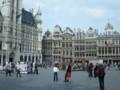 ブリュッセル。中心広場グラン・プラス #Eye-fi