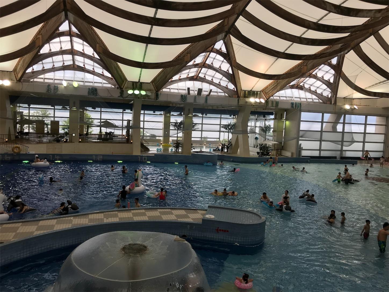 洞爺サンパレスのプール