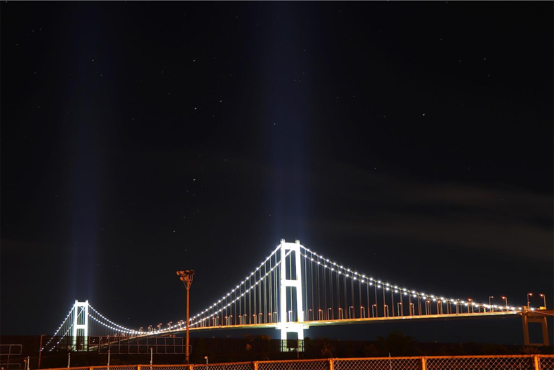 室蘭市 白鳥大橋ライトアップ