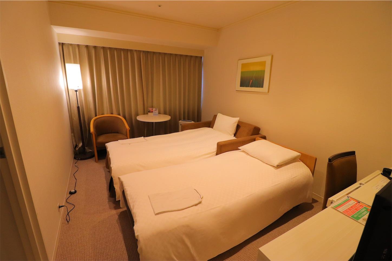 センチュリーロイヤルホテル札幌 コーナーデラックスツイン
