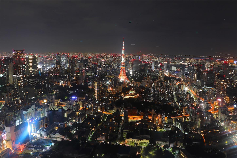 六本木ヒルズ森タワー 東京タワー
