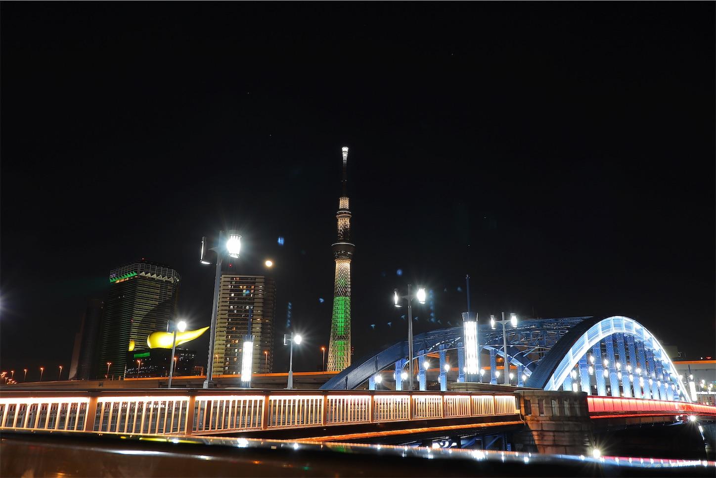 駒形橋 夜景