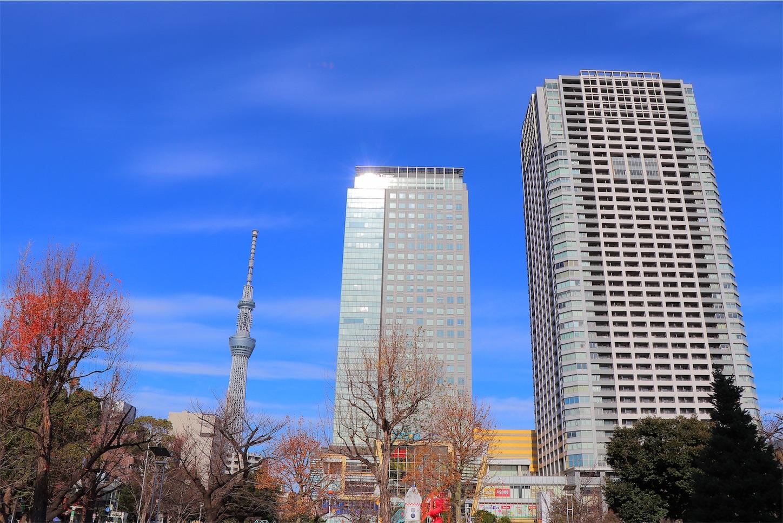 東京スカイツリー 錦糸公園