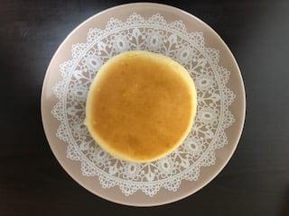 焼きチーズスフレ上