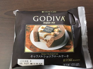Uchi Cafe×GODIVA キャラメルショコラロールケーキ