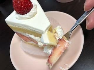 いちびこの生いちごタルト、いちごのショートケーキ2