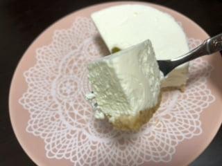 濃厚レアチーズケーキ(パティスリー ラネージュ)3