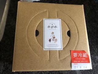 OVO(オーヴォ)のレモンベイクドチーズケーキ2