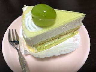 シャインマスカットレアチーズケーキ