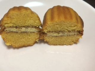 アーモンドケーキ プレーン カット