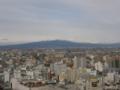 高崎市役所展望ロビーから赤城山