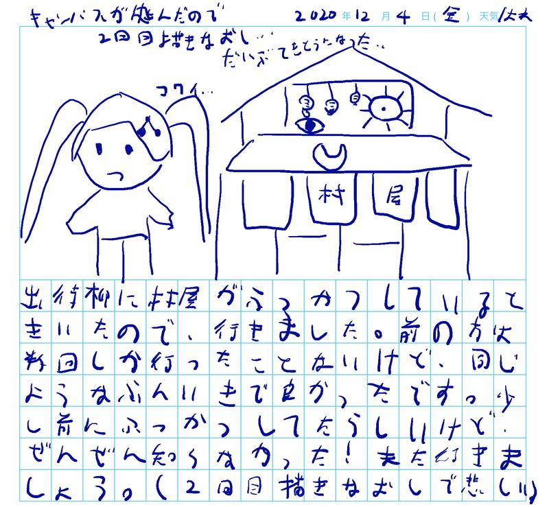 2010年12月4日(金)天気/大人