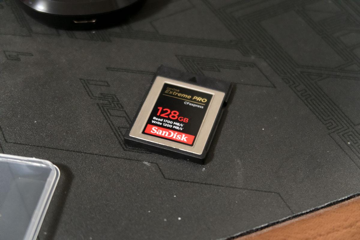 サンディスク エクトリーム プロ CFexpress Type B カード