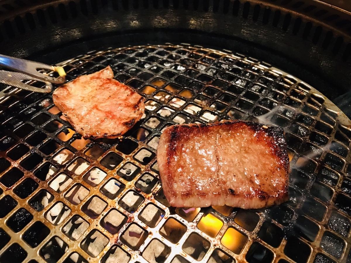 筋トレあとの肉