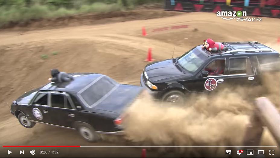 Amazonプライムビデオの「戦闘車」シーズン1は高級車がガチでぶっ壊れる映像が見られる珍しい作品だった