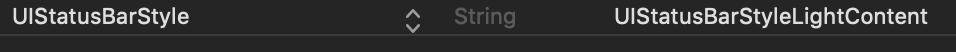【Unity】iOSのステータスバーの表示色を変更する方法