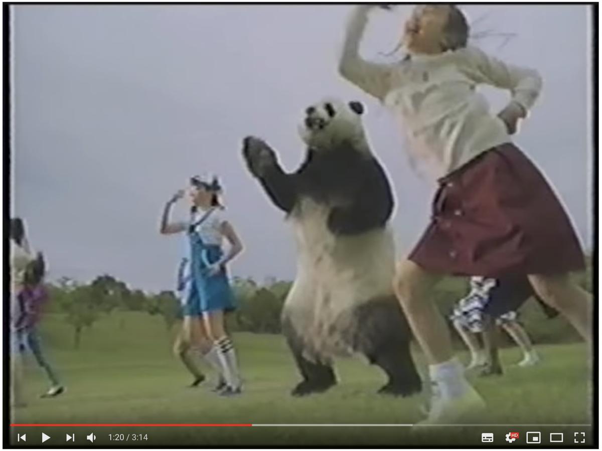 オレオのパンダンスがYouTubeで200万再生突破!斬新で面白いから是非見て欲しい