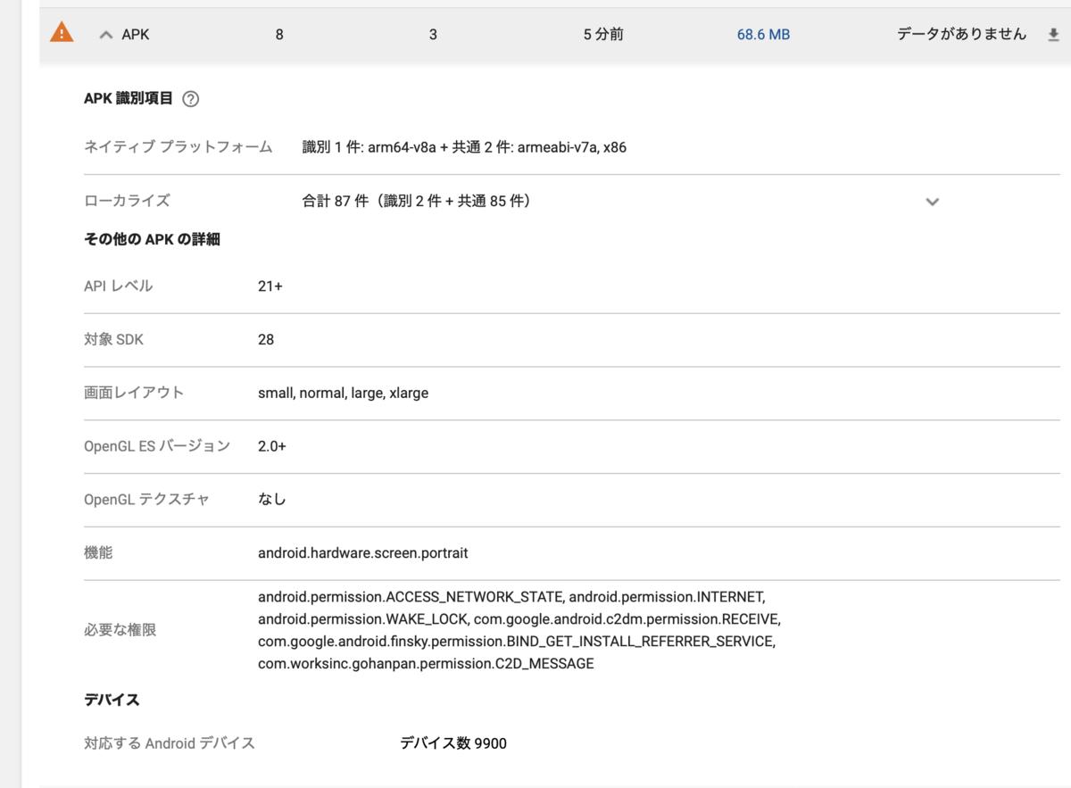 【Unity】Androidの64bit対応版アプリをアップロードしても32bitアプリとして認識される場合の対処法