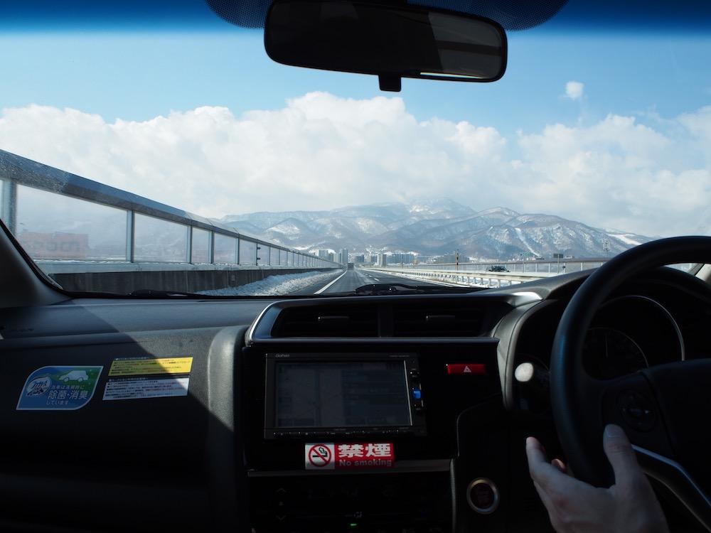 3月小樽日帰り観光旅行レンタカー