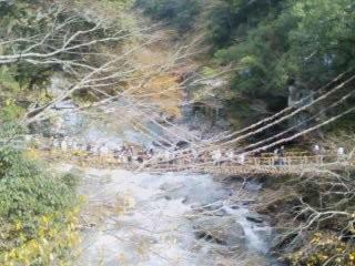 2009/11/15 かずら橋