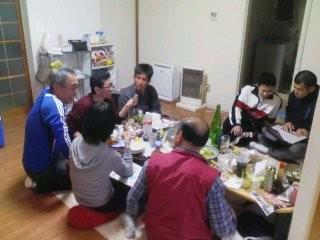 20100424 コセ1号&2号宅にて結婚祝賀会