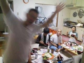 20101002 退院祝いの宴