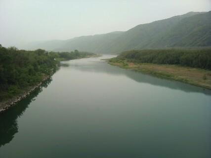 20110503 268号線からの吉野川