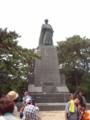 20110814 太平洋を見よう 坂本龍馬像