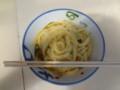 20120610 昼練:三嶋製麺所 温かい小+玉子